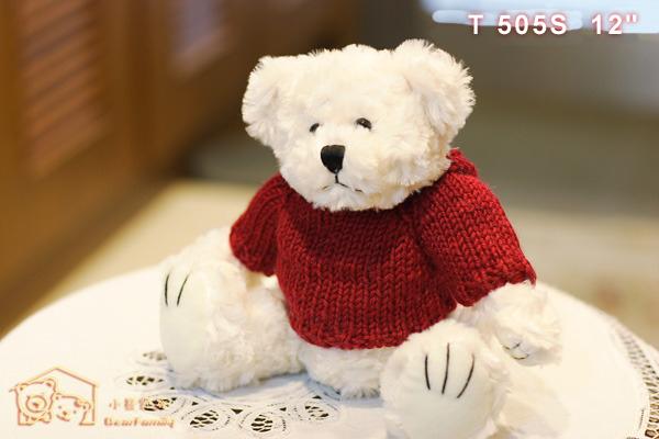 T505S 毛衣情侶熊一對
