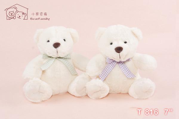 T816 小白熊一對