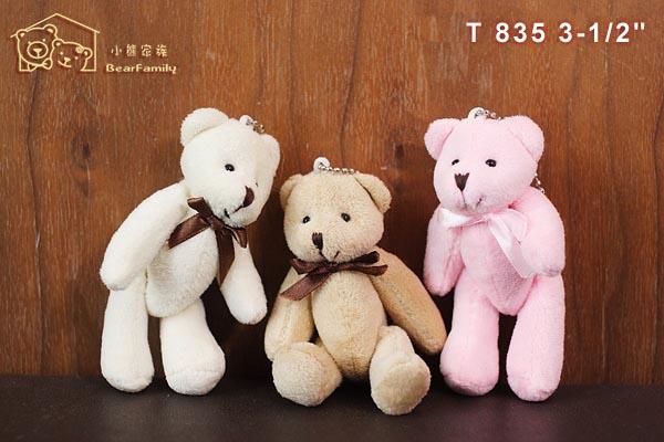 T835 迷你三色小熊 每組30隻